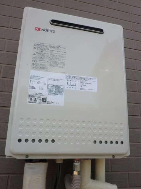 新潟県新潟市 GT-2060AWX-2BL ノーリツ給湯器交換工事