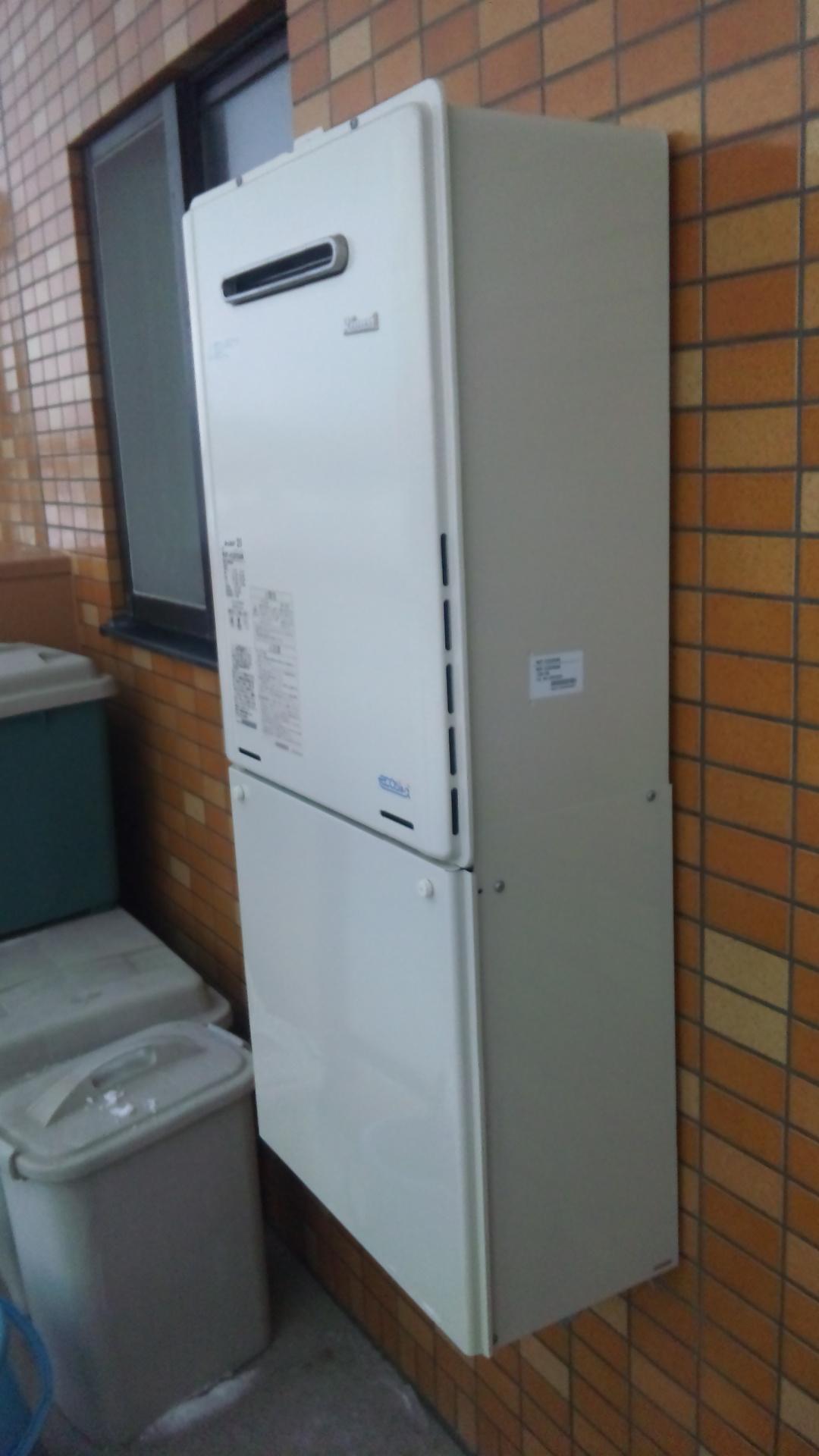 新潟県新潟市中央区 GT-2060SAWX-2BLノーリツ給湯器交換工事