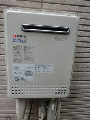 給湯器修理交換 新潟県新潟市 GT-C2052AWX-2BLノーリツエコジョーズ給湯器