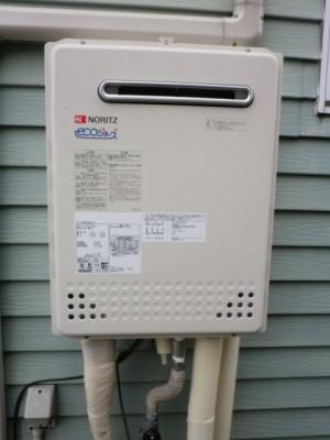 新潟県新潟市 エコジョーズ給湯器交換 GT-C2452SAWX-2BL