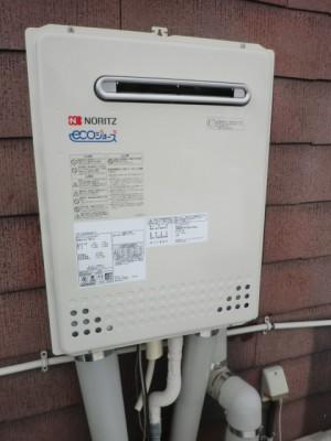 給湯器 新潟県新発田市 GT-C2052AWX-2BLノーリツエコジョーズ給湯器