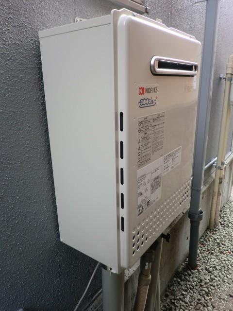 給湯器故障 新潟県加茂市 GT-C2052SAWX-2BLノーリツエコジョーズ給湯器