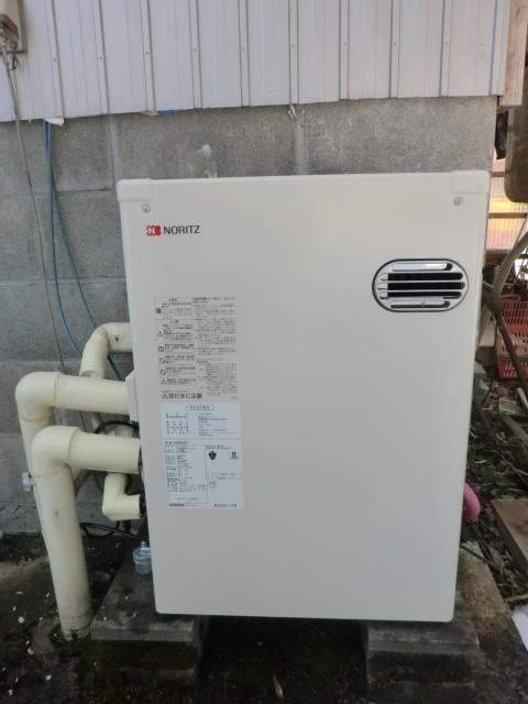 石油給湯器交換 新潟県新潟市 OTQ-4704SAYノーリツ石油給湯器