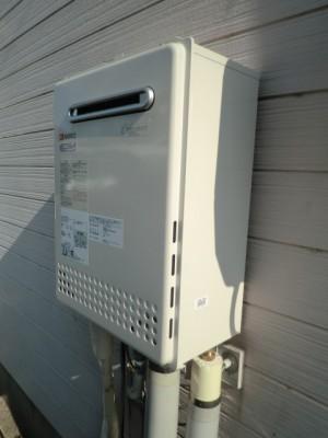 給湯器交換 新潟県新発田市 GT-C2052SAWX-2BLノーリツエコジョーズ給湯器