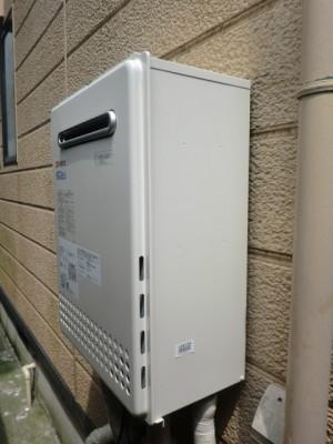 給湯器交換 新潟県見附市 GT-C2452SAWX-2BLノーリツエコジョーズ給湯器