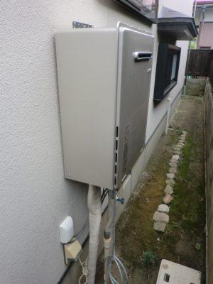 新潟県柏崎市 給湯器交換 RUF-E2005AWリンナイエコジョーズ給湯器