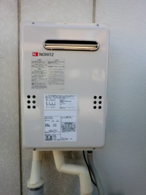給湯器交換 新潟県新潟市 GQ-2439WSノーリツ給湯器専用