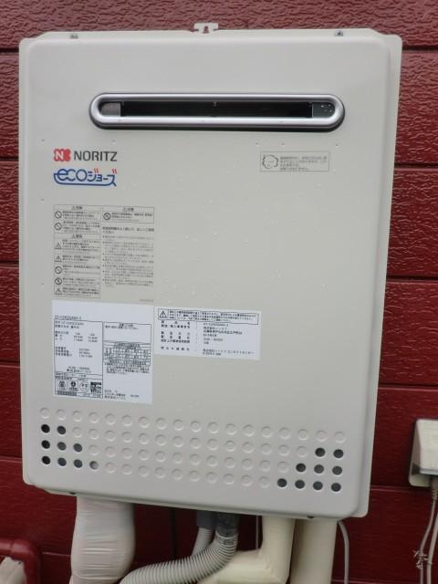 給湯器修理交換 新潟県長岡市 GT-C2452AWX-2BLノーリツエコジョーズ給湯器