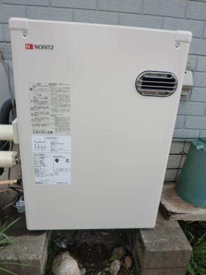新潟県新潟市 石油給湯器修理交換工事 OTQ-4704SAFノーリツ石油給湯器