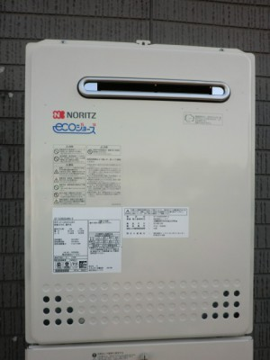 給湯器交換 新潟県新潟市 GT-C2052AWX-2BLノーリツエコジョーズ給湯器