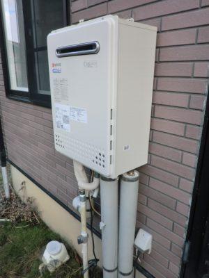 新潟県柏崎市 ガス給湯器交換 GT-C2452SAWX-2BLノーリツ