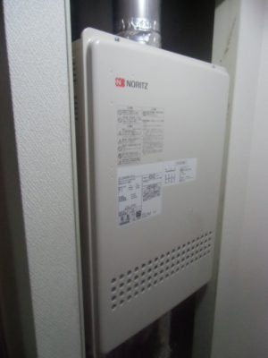 新潟県新潟市 給湯器交換工事 GT-1651SAWX-FFA-2BLノーリツ給湯器