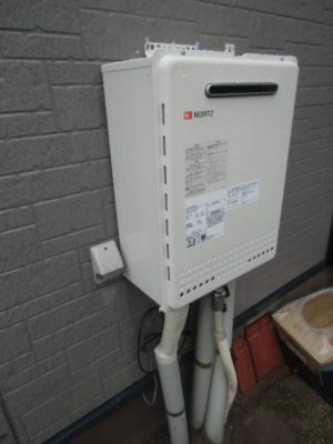 給湯器故障交換 新潟県新潟市 GT-2450SAWX-2BLノーリツ給湯器