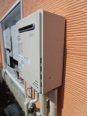 給湯器交換 新潟県長岡市 GT-C2452AWX-2BLノーリツエコジョーズ給湯器