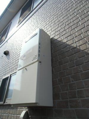 新潟県長岡市 給湯器交換工事 GT-C2052AWX-2BLノーリツエコジョーズ給湯器