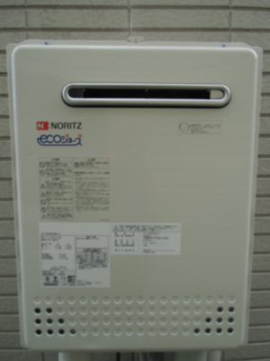 新潟県長岡市 ガス給湯器 SRT-2060SAWX-2BLノーリツ給湯器