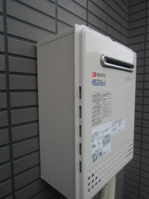 給湯器交換工事 新潟県新潟市 GT-C2052AWX-2BLノーリツエコジョーズ給湯器