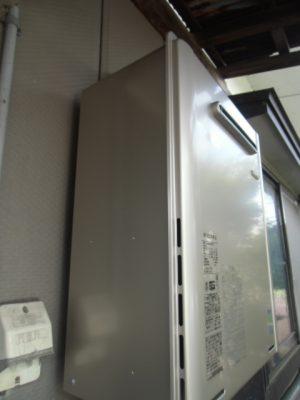 給湯器交換 新潟県燕市 RUF-E2005SAWリンナイエコジョーズ給湯器