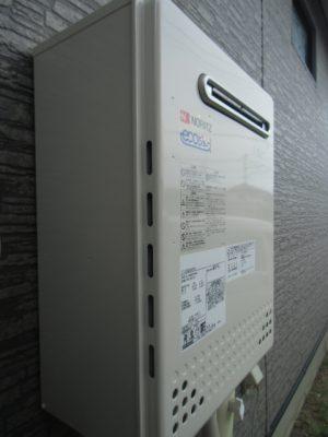 新潟県長岡市 給湯器交換工事 T-C2052AWX-2BLノーリツエコジョーズ給湯器