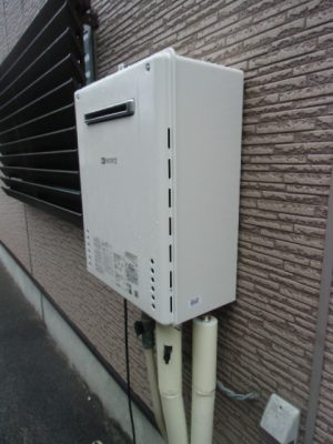 ガス給湯器故障取り替え交換工事 新潟県長岡市