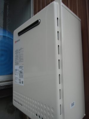 ガス給湯器交換 新潟県長岡市 GT-2460AWX-2BLノーリツ給湯器