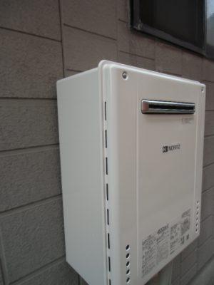 給湯器交換 新潟県五泉市・ガス給湯器故障取り替え交換工事