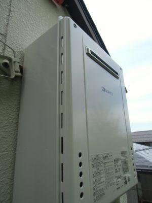 新潟県新潟市 GT-2060SAWX-2BL ノーリツ給湯器交換工事