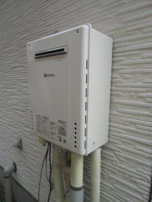 給湯器修理 新潟市西区・ガス給湯器故障取り替え交換工事