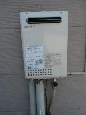 給湯器故障 新潟市東区・ガス給湯器故障取り替え交換工事