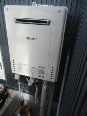 給湯器交換工事 新潟県加茂市・ガス給湯器故障取り替え交換工事
