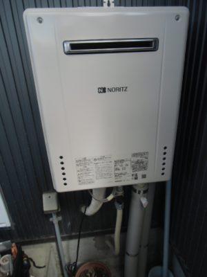 給湯器交換 新潟県長岡市・ガス給湯器故障取り替え交換工事