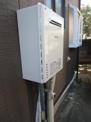 給湯器交換 新潟県柏崎市・ガス給湯器故障取り替え交換工事