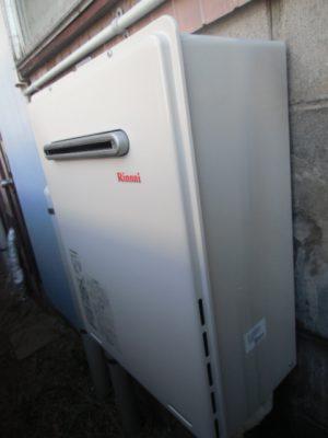 給湯器故障 新潟市北区・ガス給湯器故障取り替え交換工事