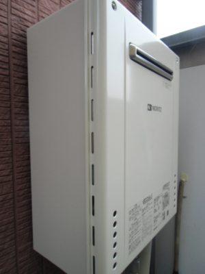 給湯器 新潟県新発田市・ガス給湯器故障取り替え交換工事