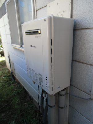 給湯器修理 新潟市中央区・ガス給湯器故障取り替え交換工事