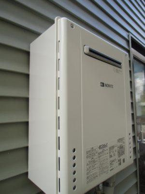 給湯器交換工事 新潟市中央区・ガス給湯器故障取り替え工事