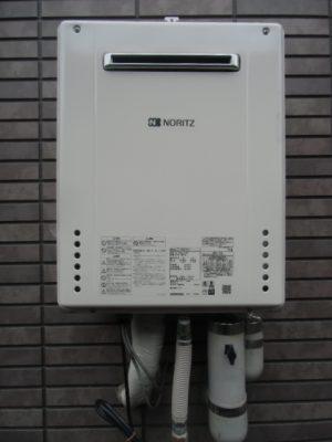 給湯器交換 新潟市中央区・ガス給湯器故障取り替え工事