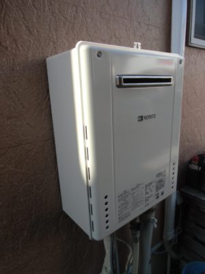 給湯器交換 新潟県燕市・ガス給湯器故障取り替え交換工事