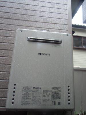 給湯器交換 新潟市北区・ガス給湯器故障取り替え交換工事