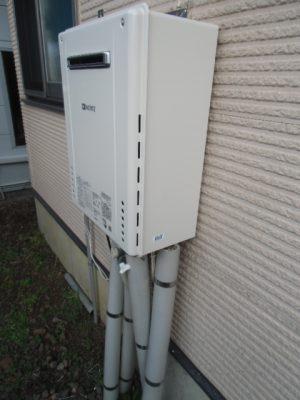 給湯器修理 新潟市北区・ガス給湯器故障取り替え交換工事