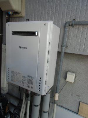 新潟県新潟市 GT-C246SAWX-2BLノーリツエコジョーズ給湯器交換