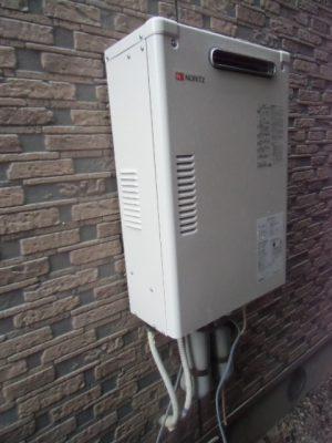 石油給湯器 新潟県阿賀野市・石油給湯器故障取り替え交換工事