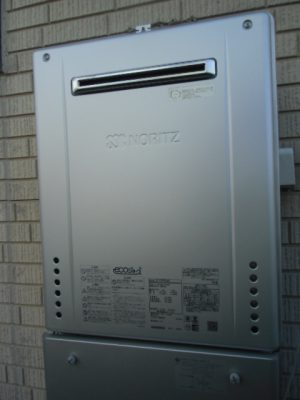 給湯器交換工事 新潟市中央区・ガス給湯器故障取り替え交換工事