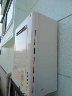 給湯器故障 新潟県新潟市・ガス給湯器故障取り替え交換工事