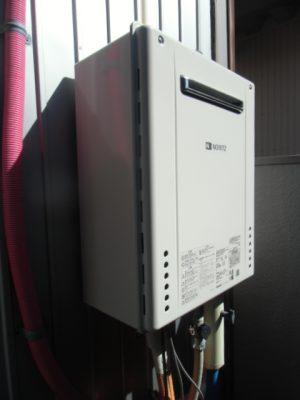 給湯器修理交換 新潟県上越市・ガス給湯器故障取り替え交換工事