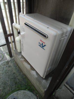 給湯器交換工事 新潟県三条市・ガス給湯器故障取り替え交換工事
