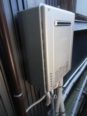 給湯器故障 新潟県長岡市・ガス給湯器故障取り替え交換工事