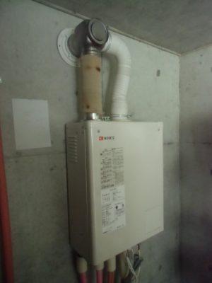 石油給湯器交換 新潟県長岡市・石油給湯器故障取り替え交換工事