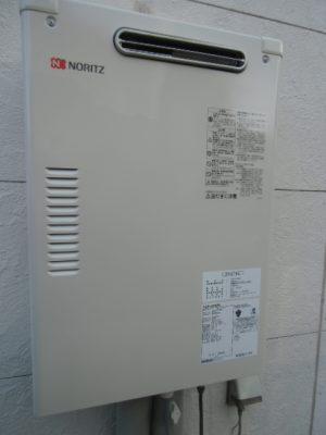 給湯器故障 新潟市江南区・石油給湯器故障取り替え交換工事