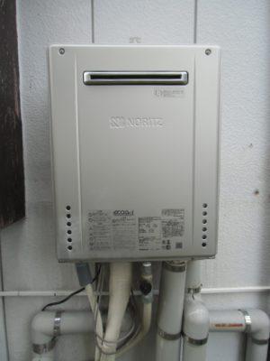 給湯器交換工事 新潟県阿賀町・ガス給湯器故障取り替え交換工事